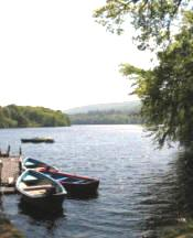 The boat station at Faskally
