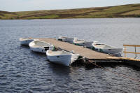 The new Heridbean boats on Watch Reservoir