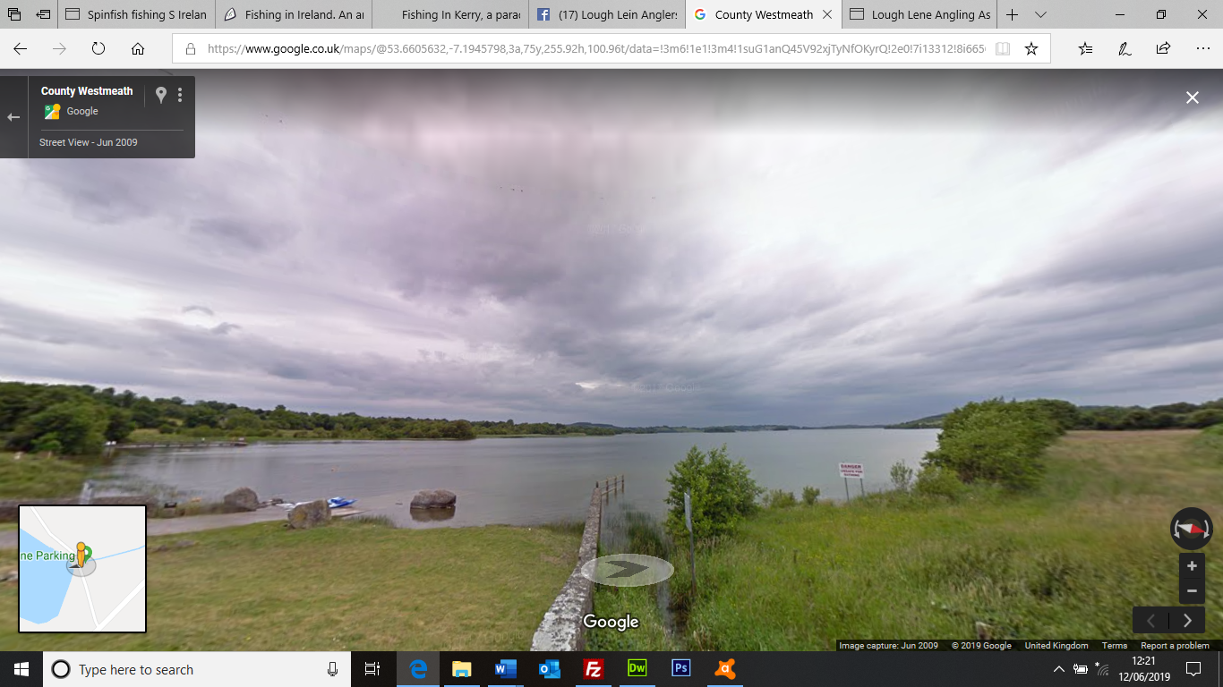 Google screenshot Lough Lene