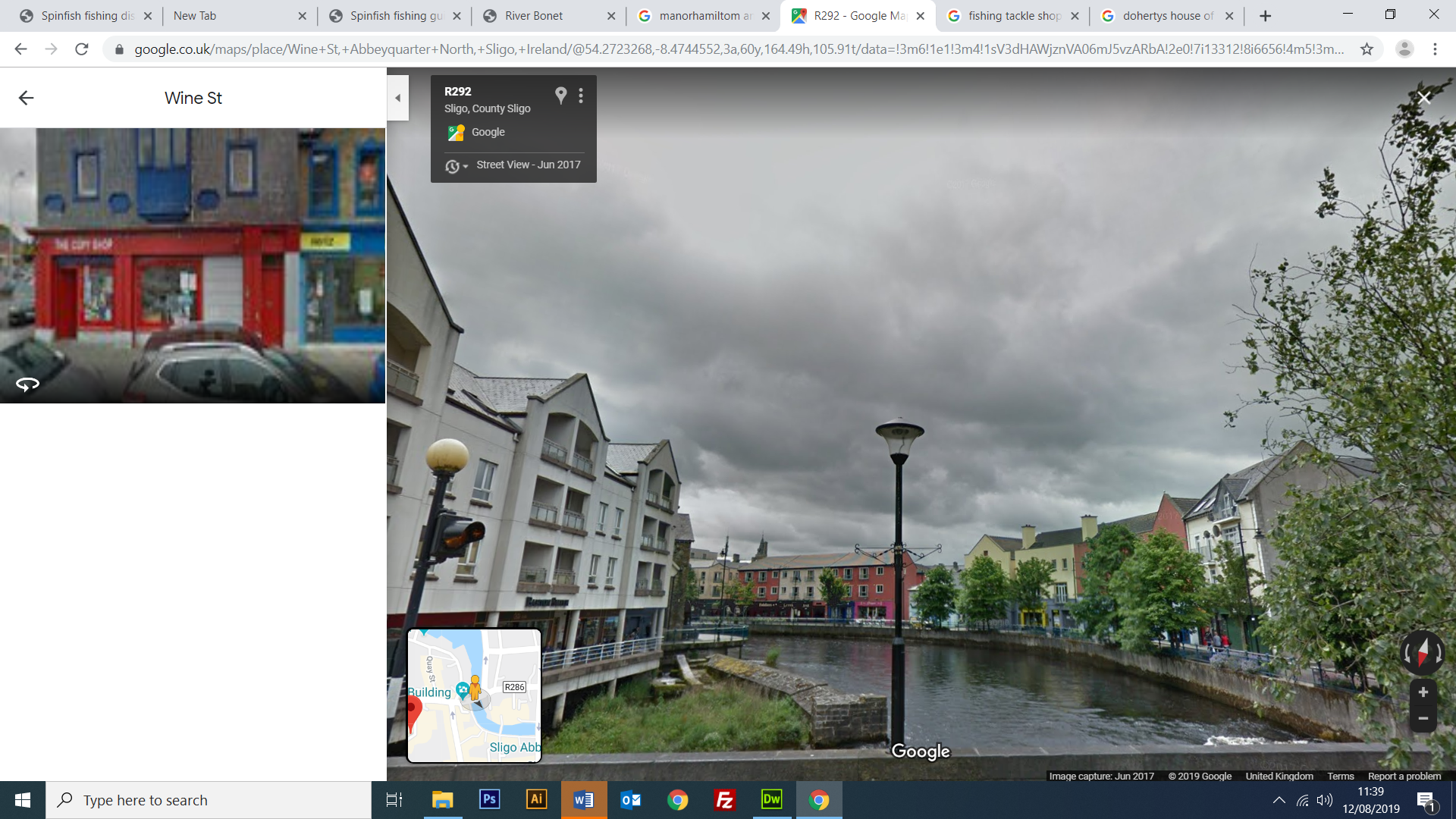 Google Street View Garvoge River Sligo