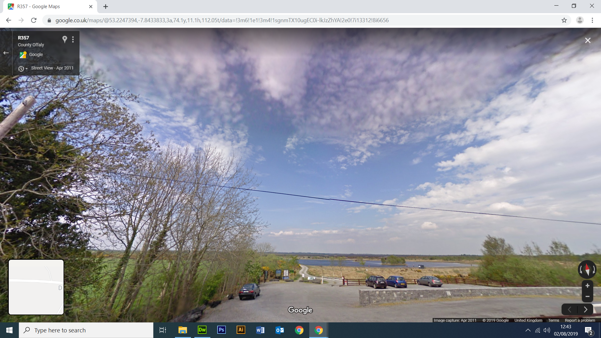 Google Street View Lough Cloghan