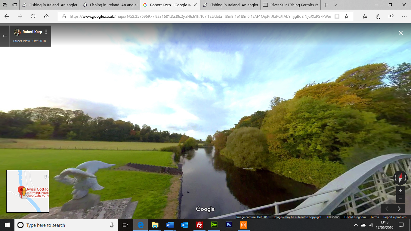 Google Screen Shot river Suir at Swiss Cottage