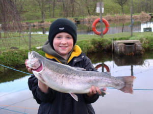 R Renton with a fine Swanswater rainbow