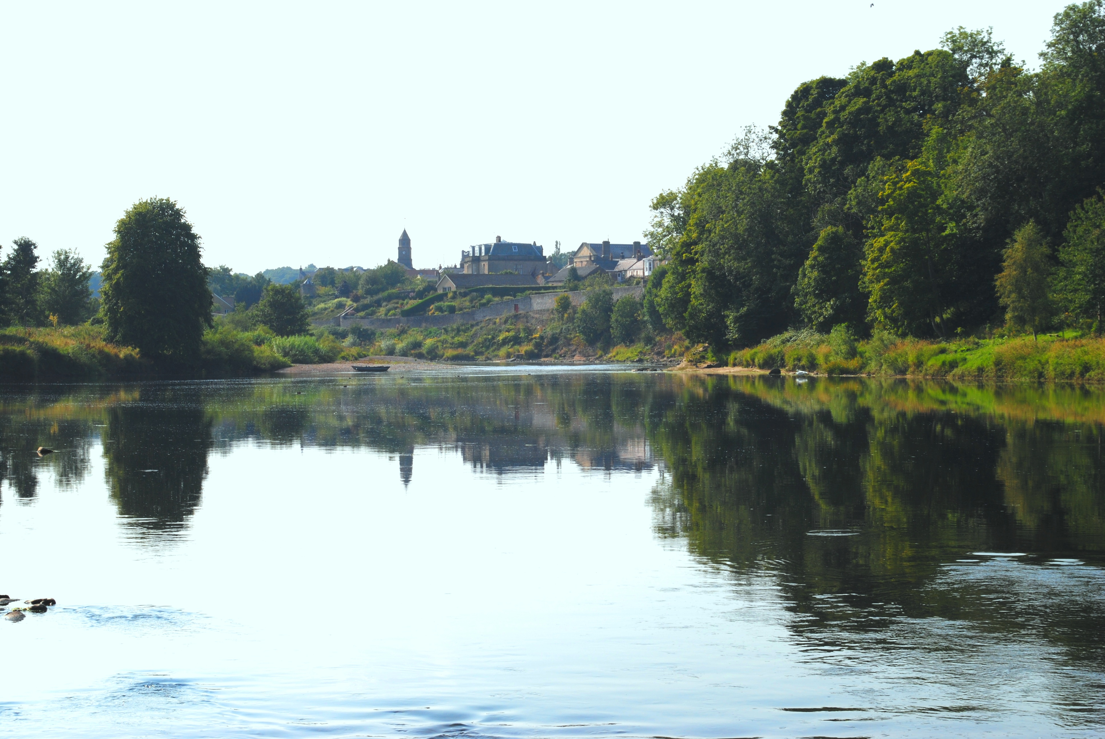 The Tweed at Coldstream